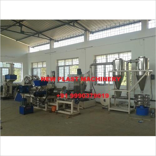 PP-LLDPE CaCo3 Compounding Machine