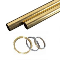 Brass Hollow Rods For Synchronizer Rings