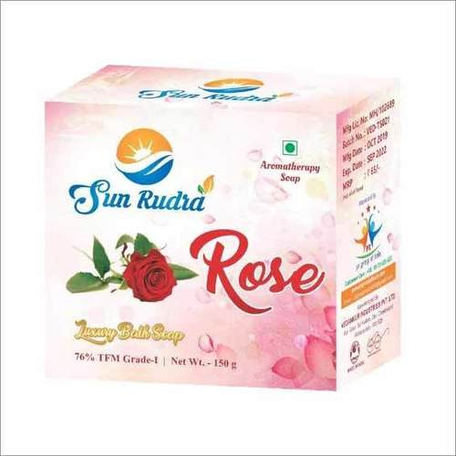 Rose Luxury Bath Soap