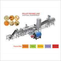 Pellets Fryer Machine