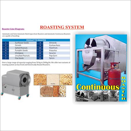 Automatic Roaster Machine