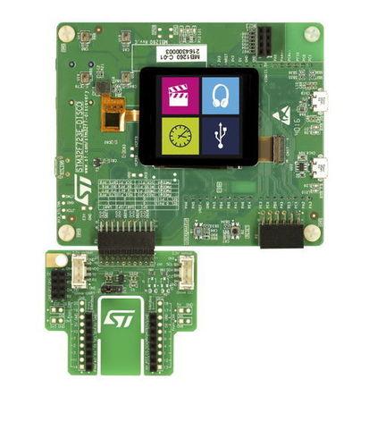 STM32 STM32F723E-DISCO - Discovery Kit
