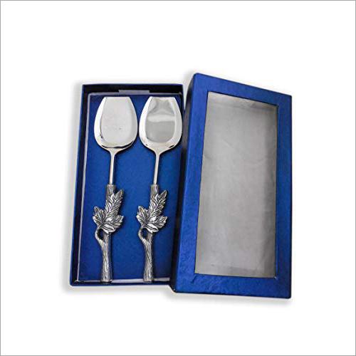 Silver Servings Spoon Set
