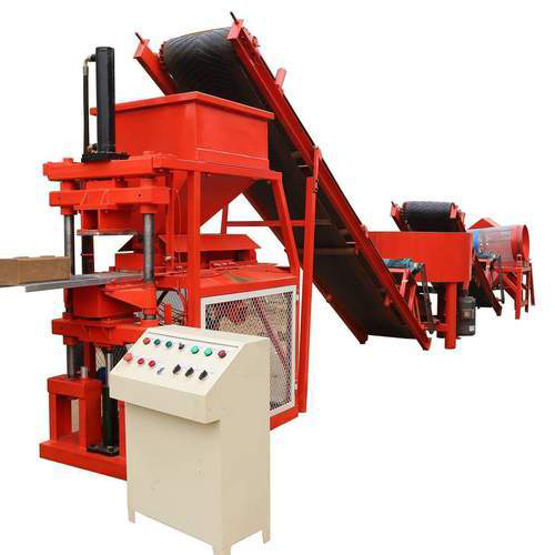 Automatic Interlock Wall Block Making Machine