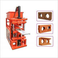 Industrial Interlock Wall Block Machine