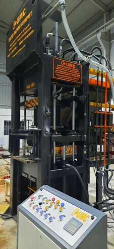 Automatic Hollow Interlock Wall Block Machine