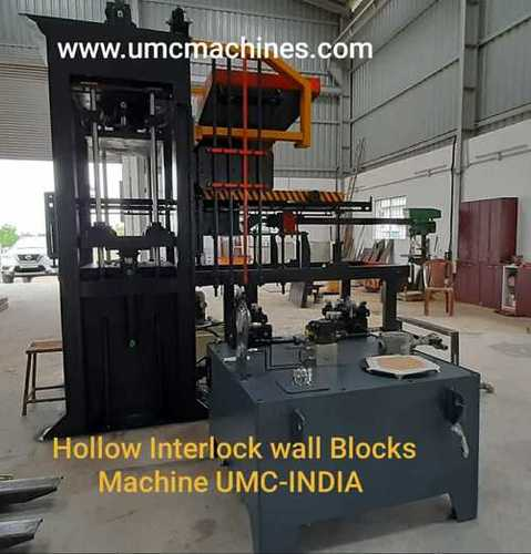 UMC Hollow Interlock Wall Blocks Making Machine