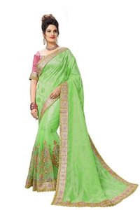 Embroiderd saree