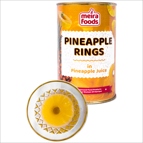 Fresh Pineapple Ring Juice