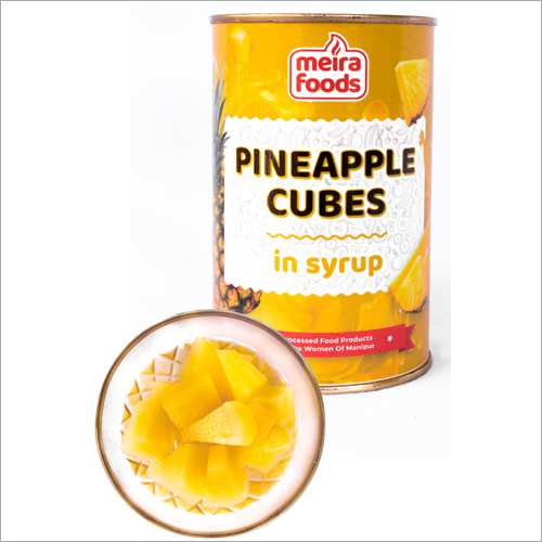 Pineapple Cubes In Syrup