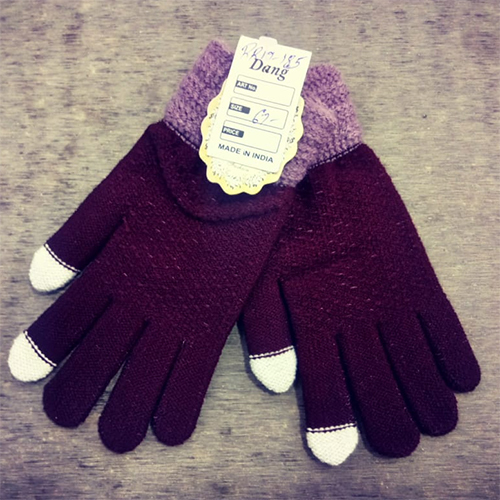Ladies Woollen Gloves
