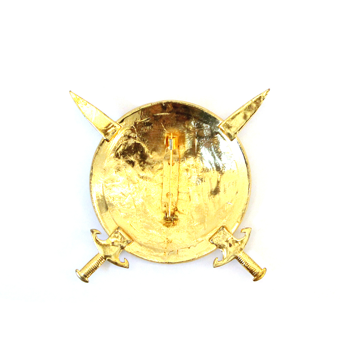 Metal Brass Brooch