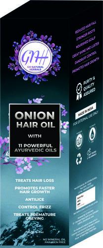Hair Oil Packaging Box