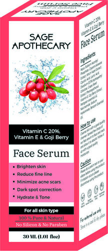 Face Serum Box