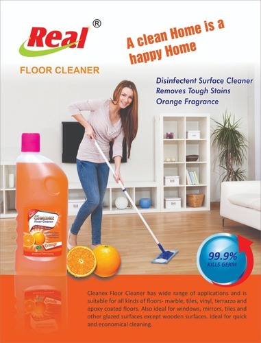 Orange Scented Floor Cleaner