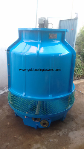 20TR Round Bottle Shape Cooling Tower