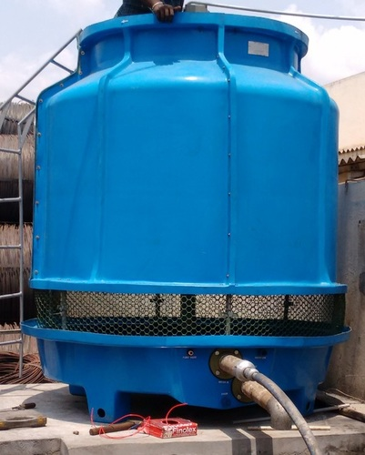 50TR Bottle Shape FRP Cooling Tower