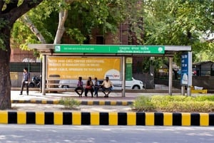 DTC BUS STAND ADVERTISING SERVICE