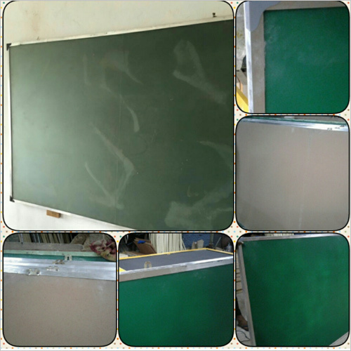 Green Glass Writing Board