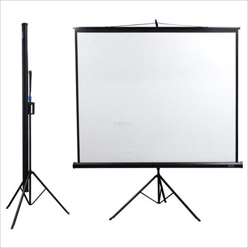 Portable Tripod Projector Screen
