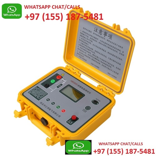 Digital Megger Insulation Resistance Tester