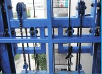 Guide Rail Type Hydraulic Lifting Platform