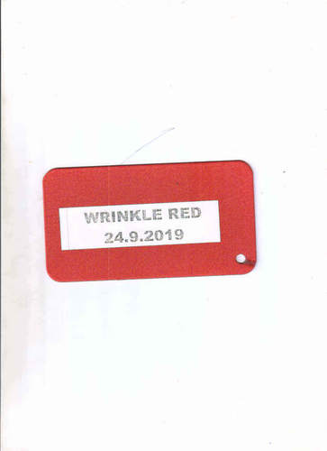 Wrinkle Red