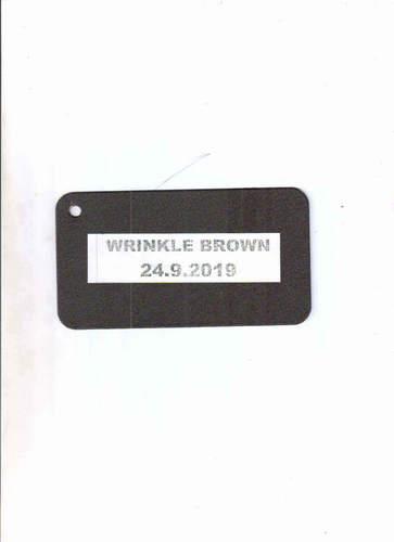 Wrinkle Brown
