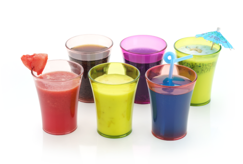 Rainbow Unbreakable Glass