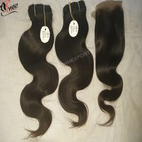 100% Indian Human Natural Remy Extension Hair