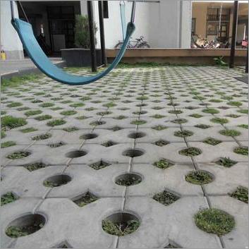 Circular Garden Paver Block