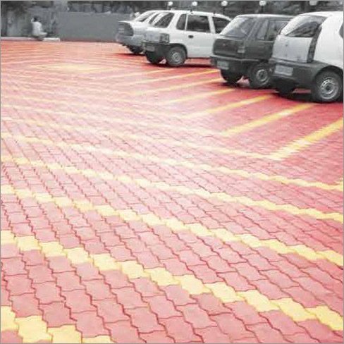 Zigzag Parking Paver Block