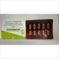 PARACETAMOL 352MG + PHENYLEPHRIN HYDROCHLORIDE 5MG + CAFFEINE 30MG + DIPHENHYDRAMINE HYDROCHLORIDE 25MG