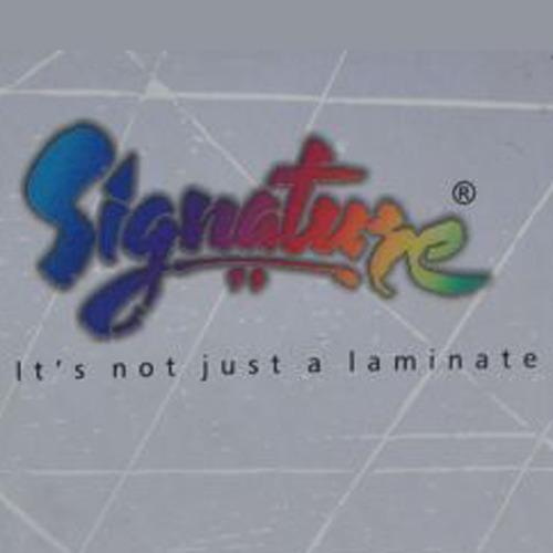 Signature Laminate Sheet