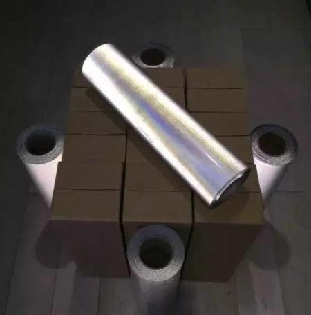 Silver Reflective Heat Transfer Vinyl