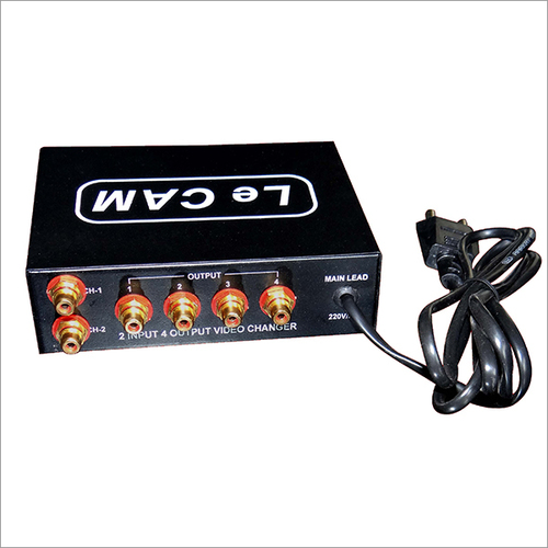 2 Input 4 Output Video Splitter