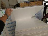 White Glossy PVC Ceiling Tile
