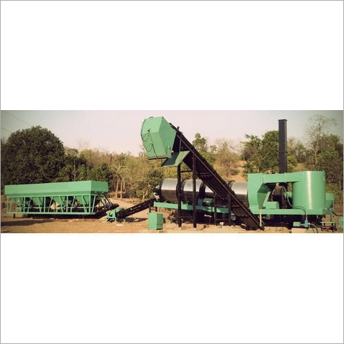 Hot Mix Drum Plant