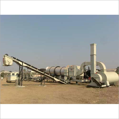 90 To 120 Hot Mix Drum Plant