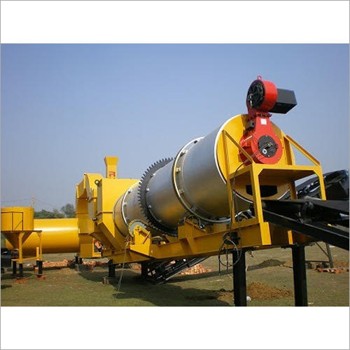 Industrial Hot Mix Drum Plant