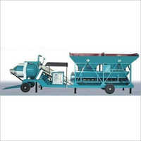 Reversible Drum Type Concrete Batching Plant