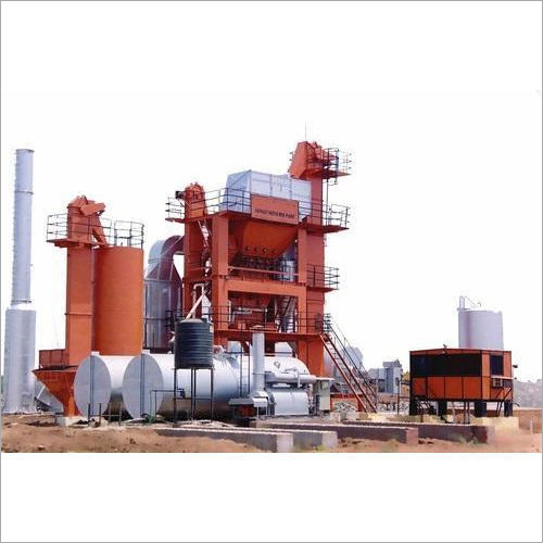 Mobile Asphalt Batch Mix Plant