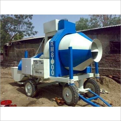 Reversible Drum Electric Concrete Mixer Machine