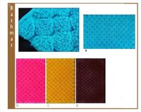 Diamond Design Cotton Bath Mat