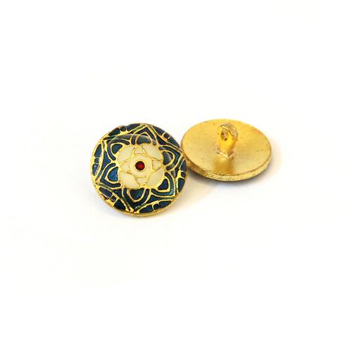 meenakari buttons
