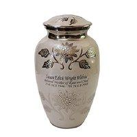 Imperial Brass Metal Cremation Urn