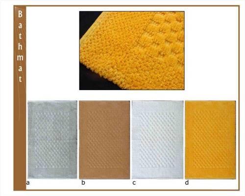 Tic Tac Design bath mats