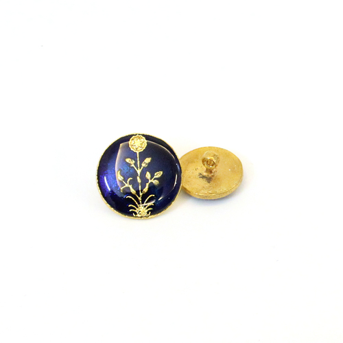 brass metal enamel buttons