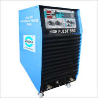High Pulse 350-450-550 Inverter Controlled Welding Machine