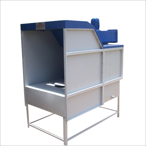 Front Open Water Curtain Industrial Paint Booth